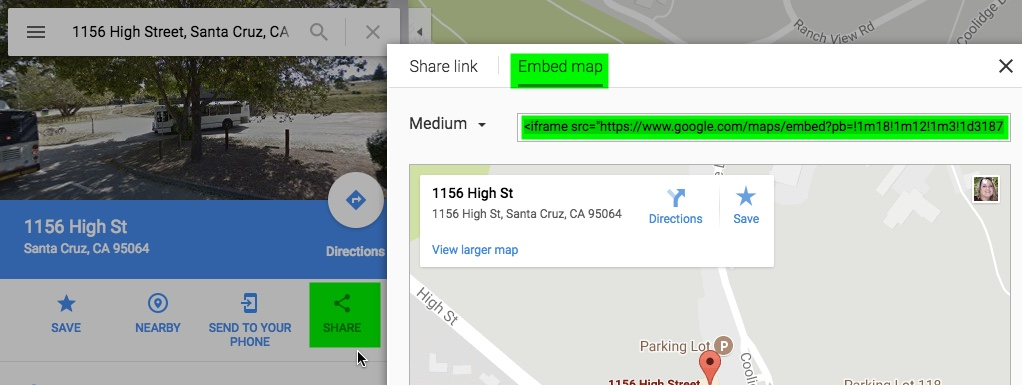 How To Embed A Google Map In Your Web Page